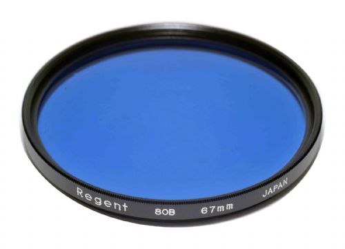 67mm Regent (Kood) 80B Filter Made in Japan Cool Down Filter